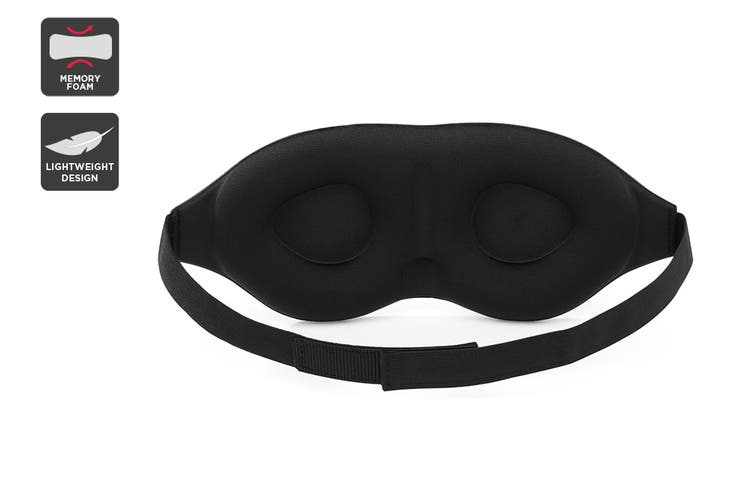 Orbis 3D Memory Foam Sleeping Eye Mask