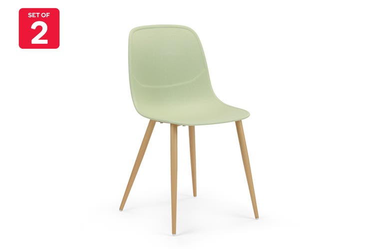 Ovela Set of 2 Brooke Dining Chairs (Green)
