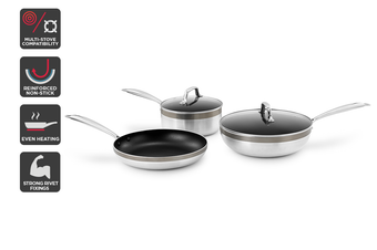 Ovela 5 Piece Essential Non-stick Cookware Set