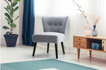 Ovela Camden Accent Chair (Grey)