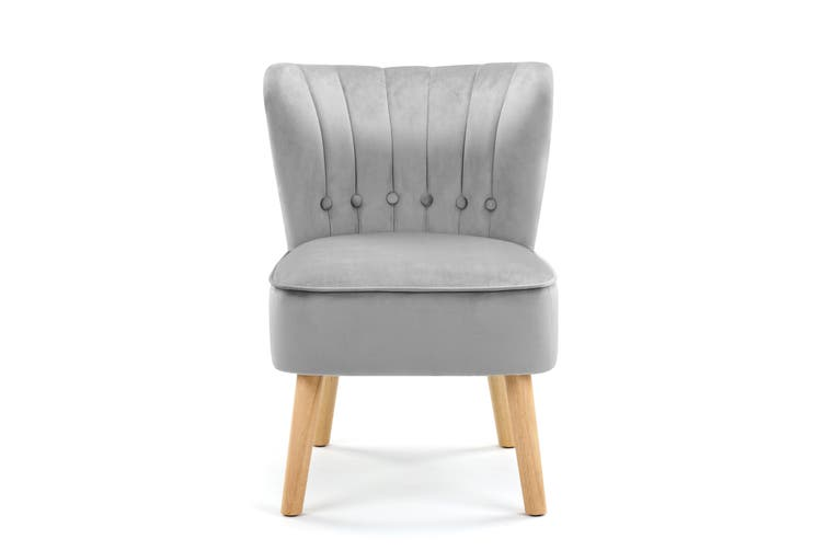 Ovela Alivia Accent Chair (Charcoal)