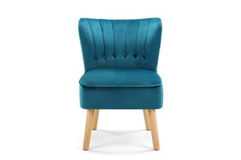 Ovela Alivia Accent Chair (Teal)