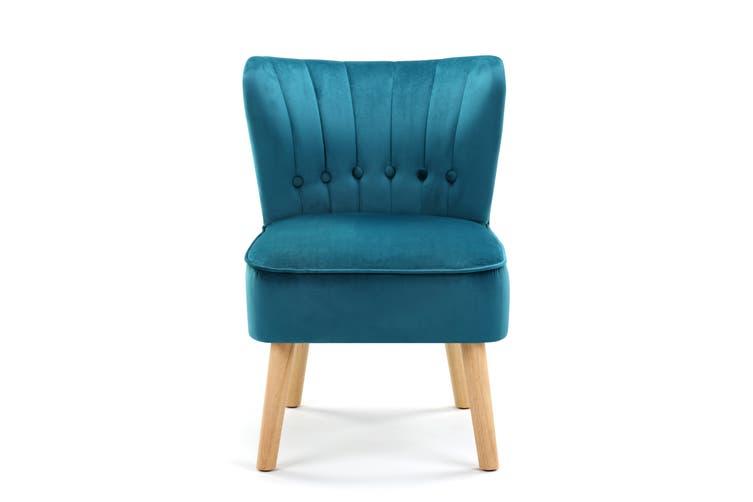 Ovela Alivia Accent Chair (Teal)