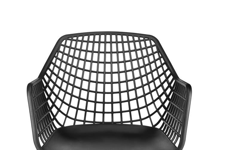 Ovela Set of 2 Leerdam Armchairs (Black)