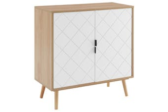 Ovela Banbury 2 Door Buffet (White/Oak)