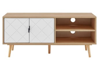 Ovela Banbury Entertainment Unit (White/Oak)