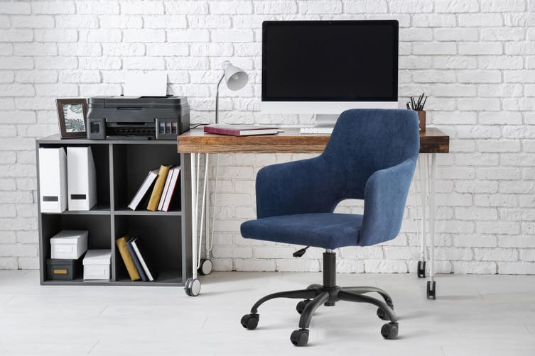 Ovela Blarney Office Chair (Navy)