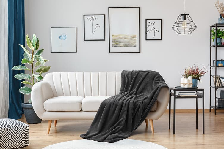 Ovela Super Soft Blanket (Charcoal)