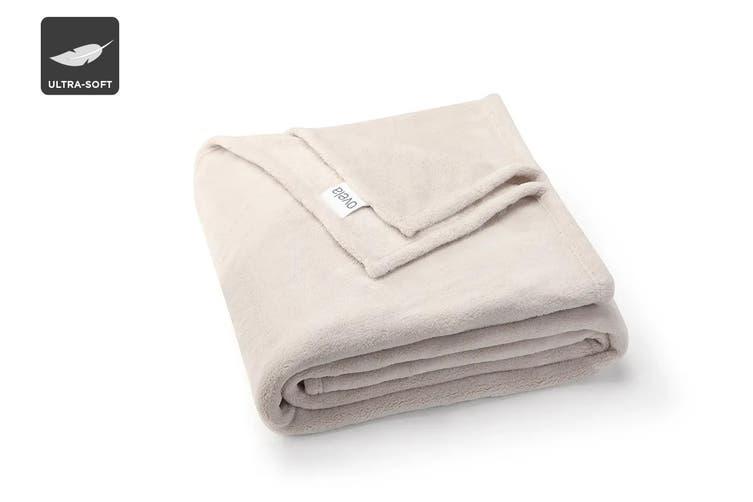 Ovela Super Soft Blanket (Natural)