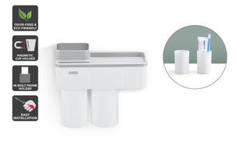 Ovela Bathroom Organiser with Toothpaste Dispenser