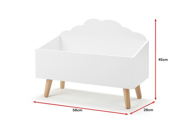 Ovela Children's Cloud Storage Box (White)