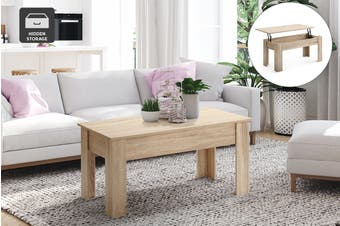 Ovela Charlotte Storage Coffee Table (Natural)