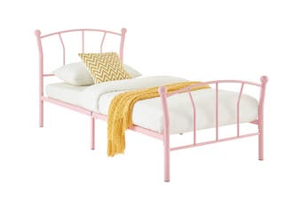 Ovela Coventry Kids Bed - (Single, Pink)