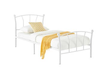 Ovela Coventry Kids Bed - (Single, White)