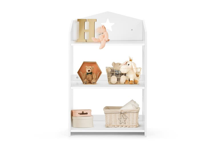 Ovela Children's Star Shelf (White)