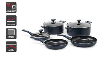 Ovela Diamond Series Non-stick 8 Piece Cookware Set