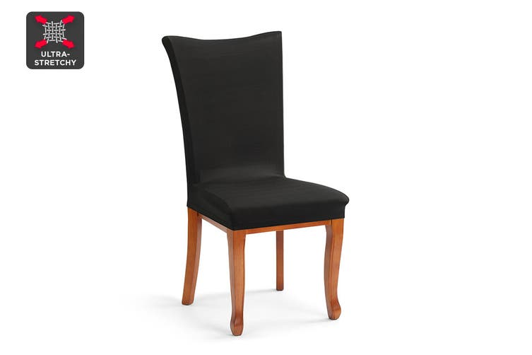 Ovela Dining Chair Cover (Black)