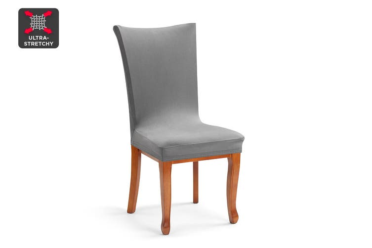 Ovela Dining Chair Cover (Charcoal)