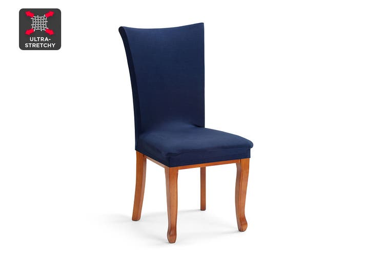 Ovela Dining Chair Cover (Navy)