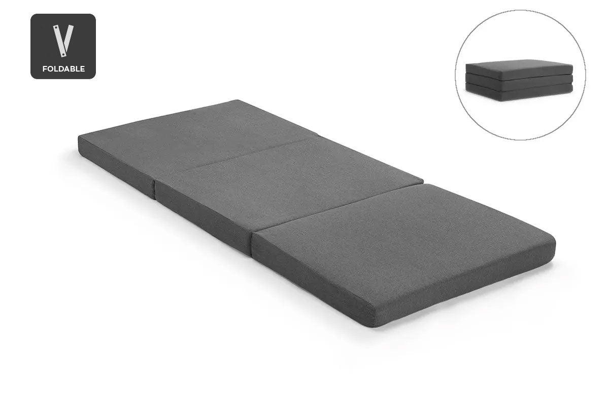 Ovela Portable Folding Foam Mattress Single Matt Blatt