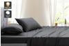 Ovela Hotel Quality 1000TC Cotton Rich Bed Sheet Set (Single, Forged Iron)
