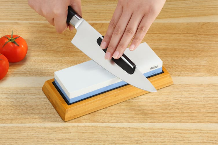 Ovela Dual Grit Whetstone Knife Sharpening Stone