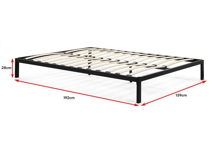 Ovela Tori Bed Frame (Grey, Double)