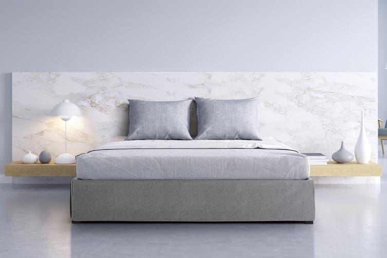 Ovela Tori Bed Frame (Grey, King)