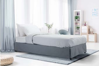 Ovela Tori Bed Frame (Grey, Single)