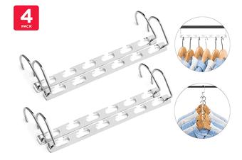 Ovela Pack of 4 Magic Hangers