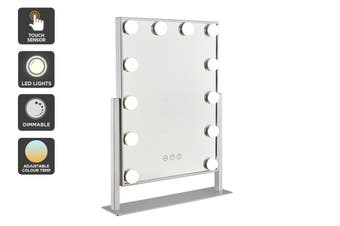 Ovela Hollywood Makeup Mirror Illuminated Light (Silver)