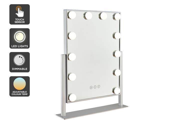 Ovela Hollywood Makeup Mirror Illuminated Light (Silver)