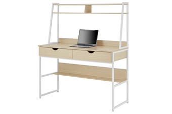 Ovela Montreal Desk (Oak/White)