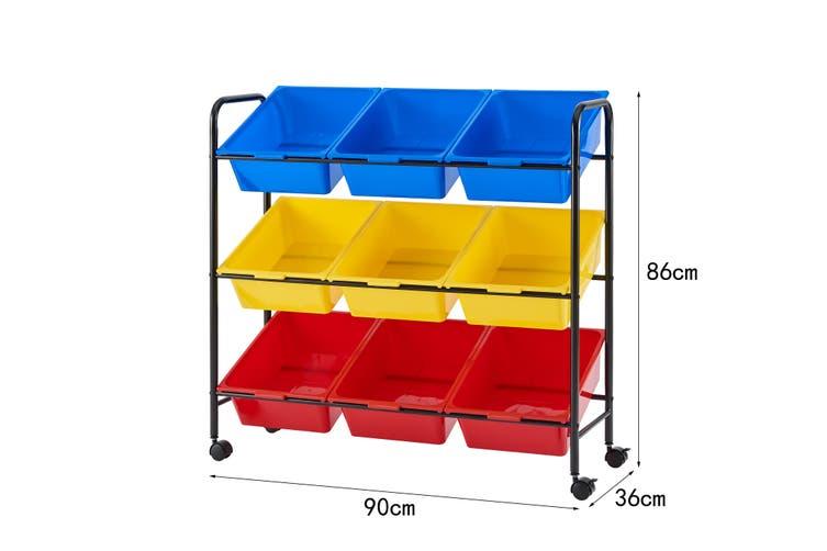 Ovela Multi Coloured Kids Storage Boxes