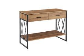 Ovela Newtown Console Table (Rustic Oak)