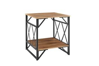 Ovela Newtown Side Table (Rustic Oak)