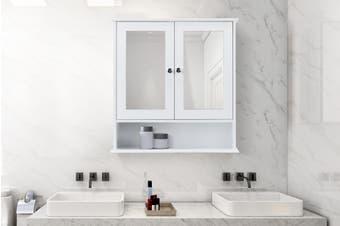 Ovela Olivia Bathroom Mirror Cabinet (White)
