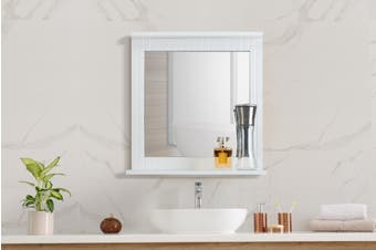 Ovela Olivia Bathroom Mirror (White)