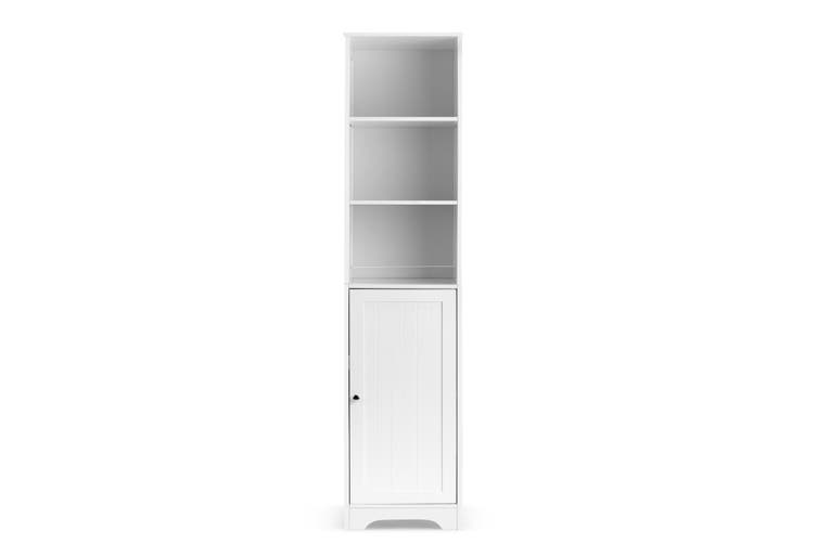 Ovela Olivia Tall Bathroom Cabinet (White)