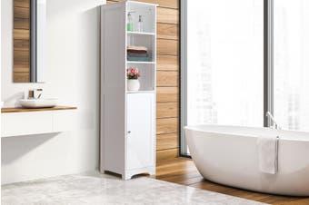 Ovela Olivia Tall Bathroom Cabinet (White)