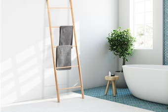 Ovela Towel Ladder Rack (Natural)