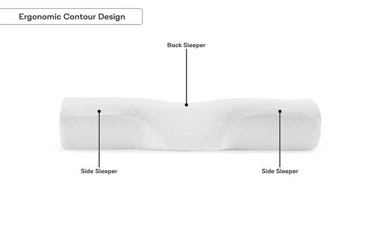 Ovela Ergonomic Contoured Neck Pillow