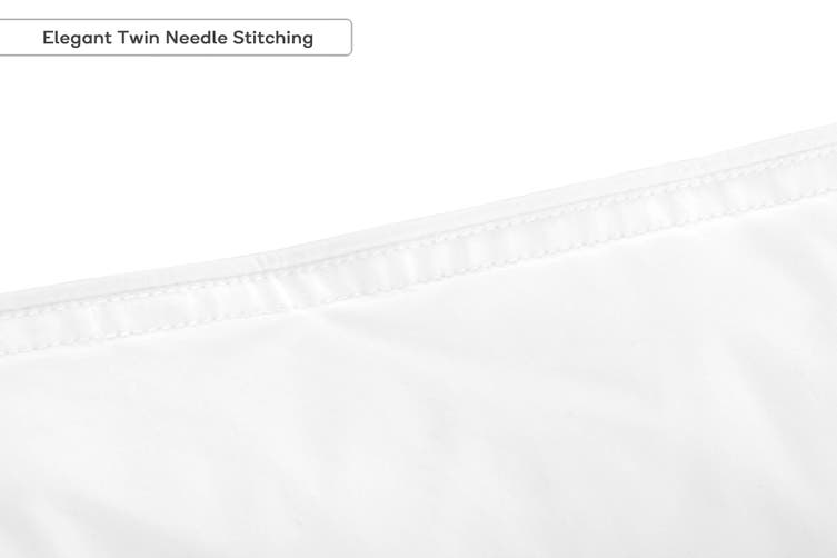Ovela Set of 2 Premium Microfibre European Pillows