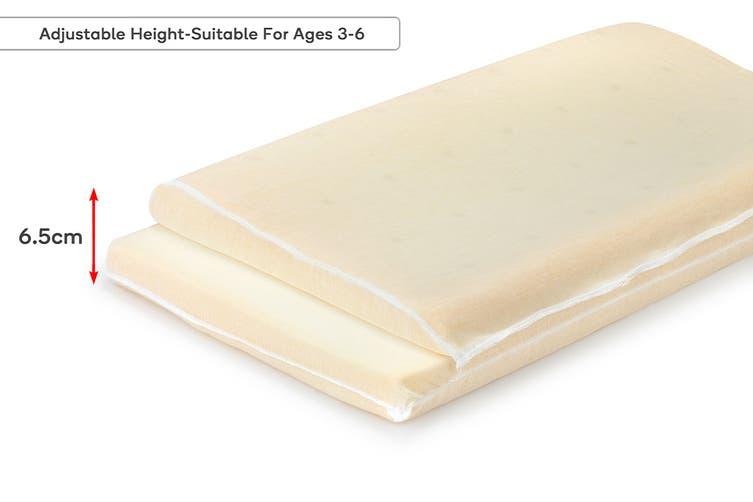Ovela Kids Adjustable Memory Foam Pillow