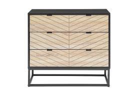 Ovela Pizzola 3 Drawer Cabinet