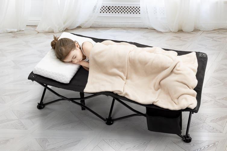 Ovela Children's Portable Cot (Black)