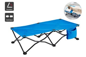 Ovela Children's Portable Cot (Blue)
