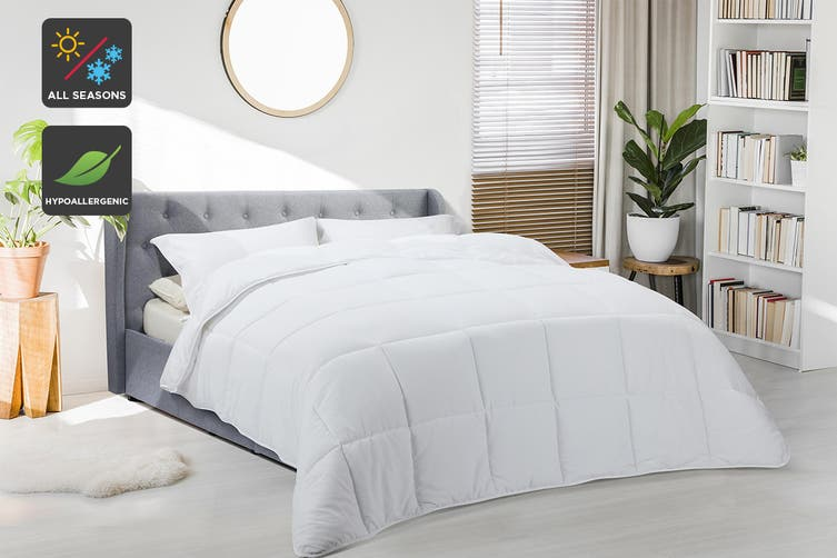 Ovela All Seasons Alternative to Down Microfibre Quilt (Double)