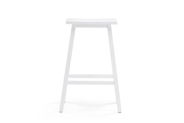 Ovela Set of 2 Saldford Bar Stool Set (White)