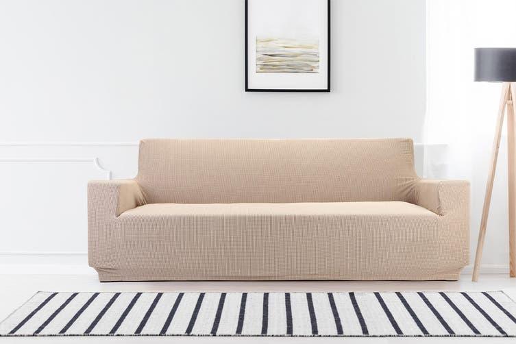 Ovela 3 Seater Sofa Cover Waffle (Sand)